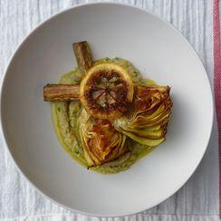 Carciofi alla Giudia with Fried Lemon