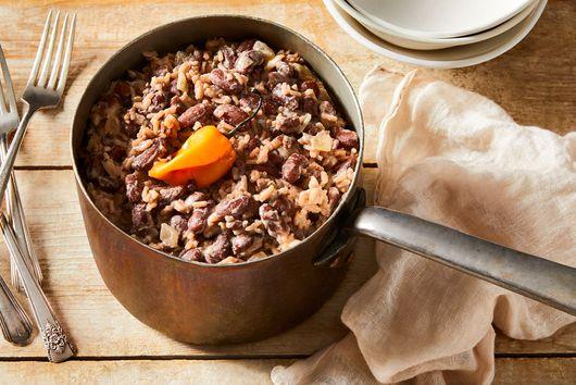Diri ak Pwa (Haitian Rice & Beans)
