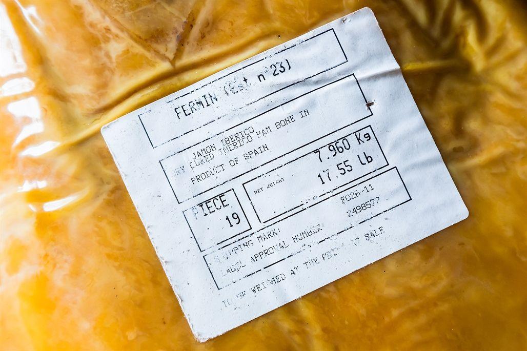 Fermin label