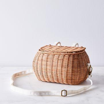 Rattan Bike Basket On Food52