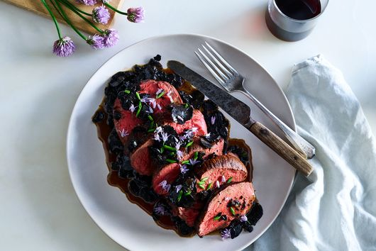 Beef Tenderloin with Black Truffle Sauce