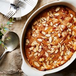 Almond-Peach Cobbler