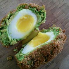 Avocado Scotch Eggs