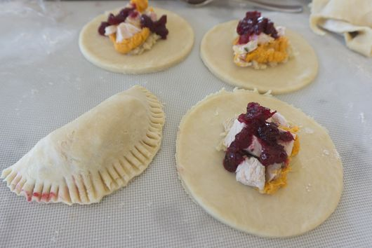 Thanksgiving Leftover Hand Pies