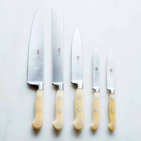 Berti White-Handled Italian Kitchen Knives