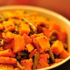 Sweet Potato & Green Bean Sabji