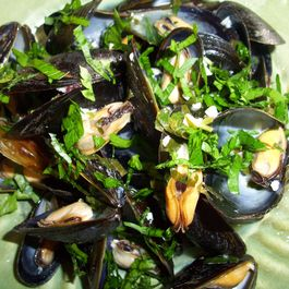 Simply   mussels