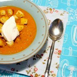 velouté tomato soup