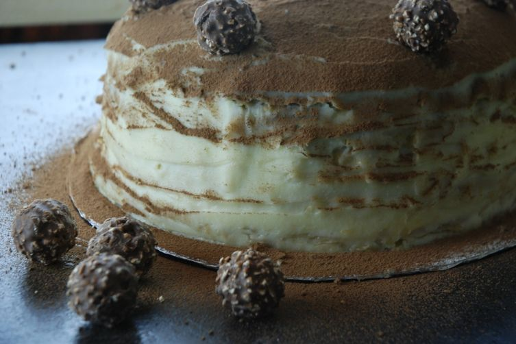 31 layers of Tiramisu Cake