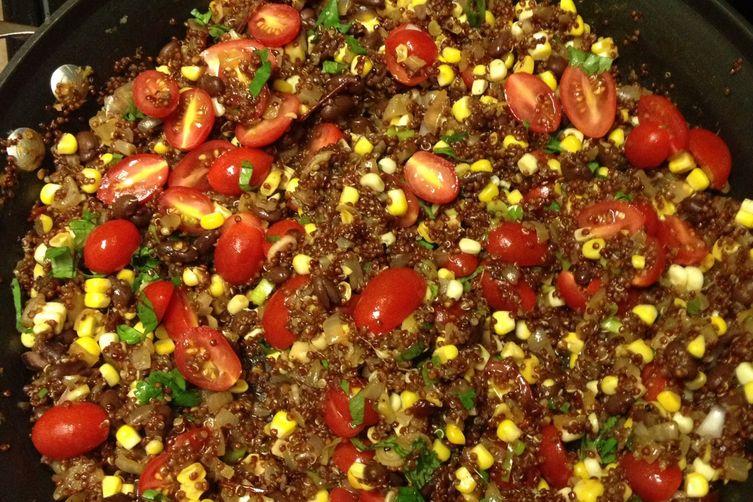Better than Central Market's Chipotle Quinoa