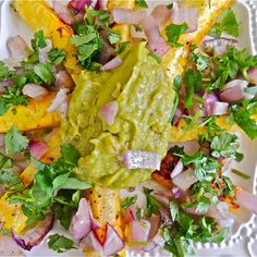 Grilled Pineapple with Smoky Avocado Vinaigrette