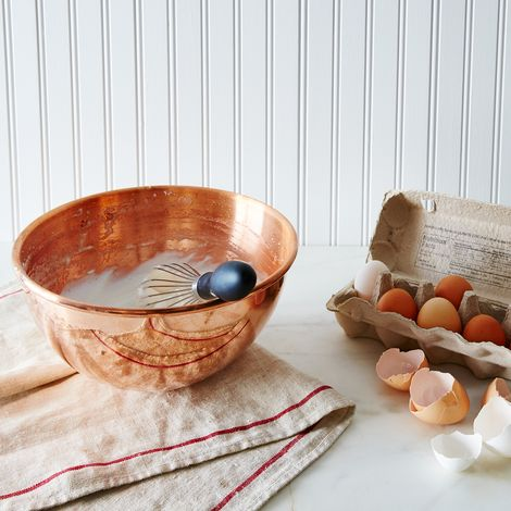 Mauviel M'passion Copper Egg White Beating Bowl