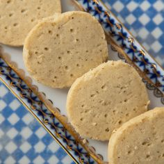 Peppery Cardamom Shortbreads