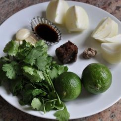 Tamarind, Lime and Cilantro Sauce