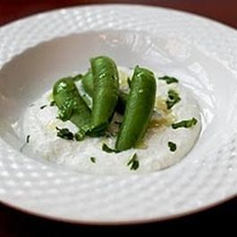 Sugar Snap Peas, Mint & Ricotta