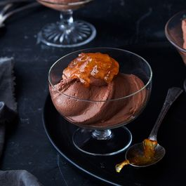 Greek yogurt choc. Mousse by Nicole S. Urdang