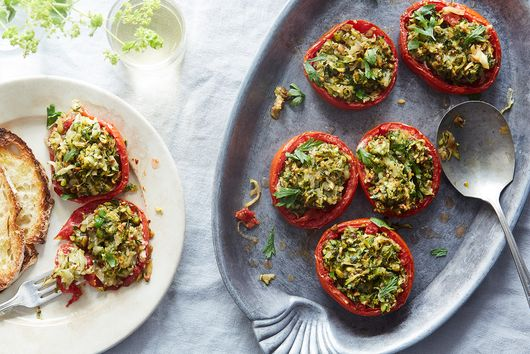 Spicy Stuffed Tomatoes