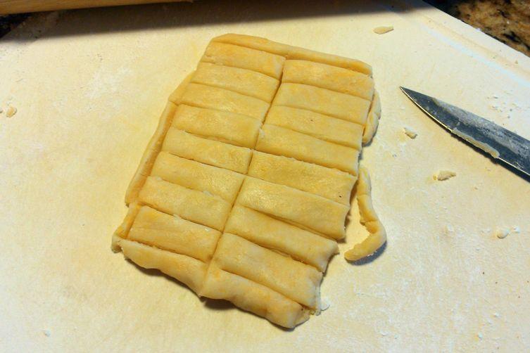 Kaastengel / Indonesian Kue Keju (Cheese Cookies) / Cheese Stick