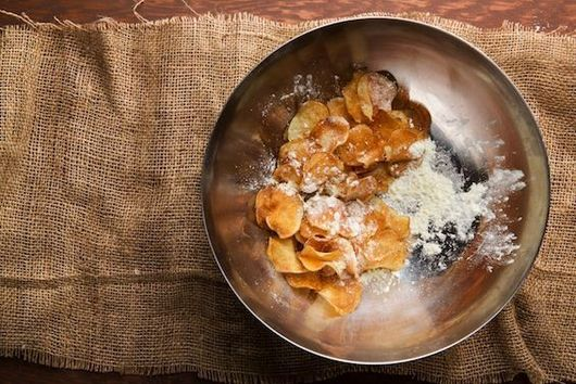 Homemade Potato Chips, Two Ways