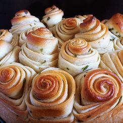 Pull-Apart Scallion Swirly Bread