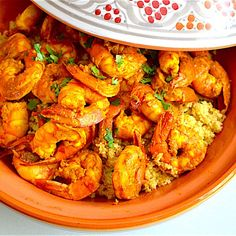 Moroccan Style Shrimp