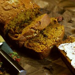 Gluten Free Spiced Pumpkin Bread