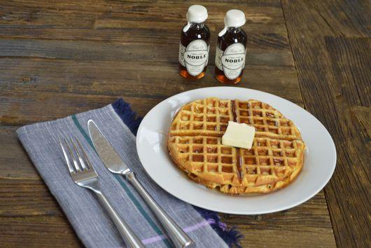 Butter Pecan Waffles