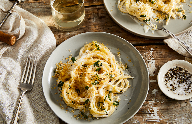 A Creamy, Cheesy Lemon Pasta for Quick Comfort, Any Night