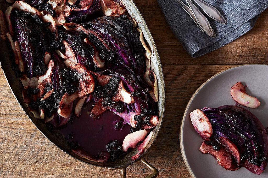 Wintry Braised Cabbage