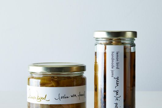 Pickled Leeks and Green Garlic