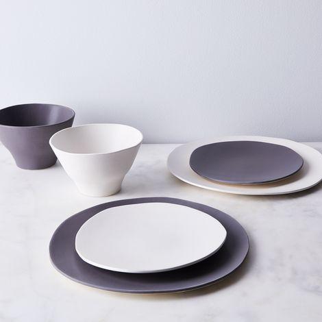 Handmade Wabi Sabi Porcelain Dinnerware