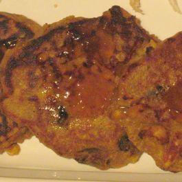 Mom's Curried Chicken Pancakes