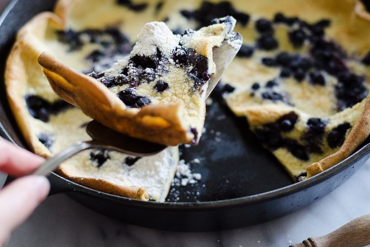 Blueberry Dutch Baby