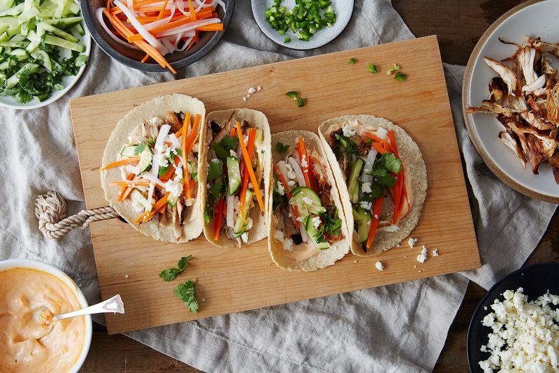 Banh Mi Soft Tacos