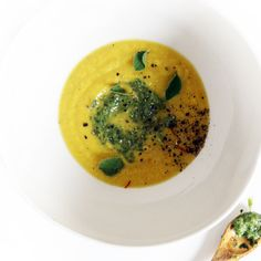 Saffron and Turmeric Corn Summer Soup