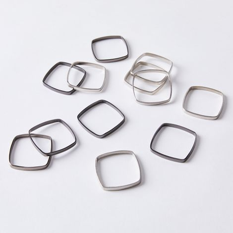Minimalist Napkin Rings (Set of 6)