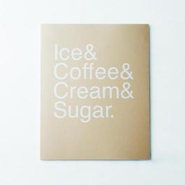 Iced Coffee Print