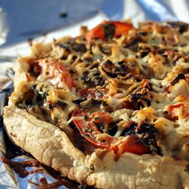 Rustic Grilled Vegetable Tart