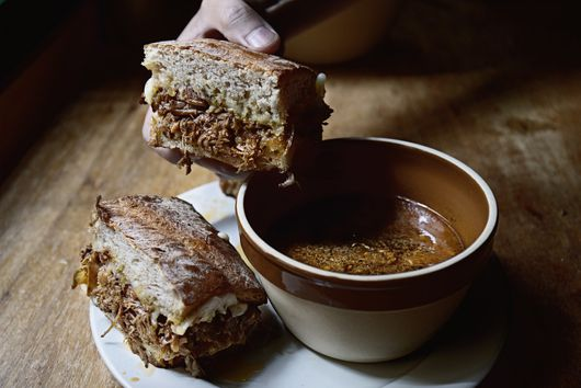 Miso-Stewed-Beef French Dip