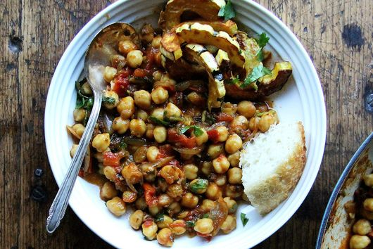 Make One-Pot Chickpea Tagine in Less than One Hour