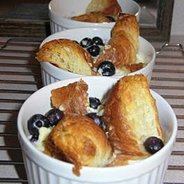 Blueberry Croissant Puff