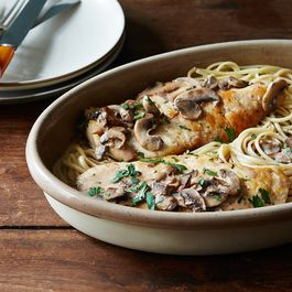 A Creamy Weeknight Chicken Marsala by DragonFly