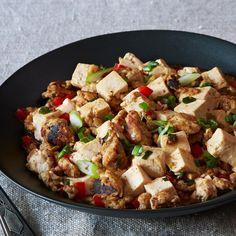 Ma Po Tofu (Stir-Fried Bean Curd with Turkey)