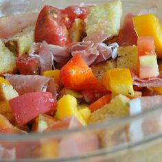 """""""Pan con Tomate"""" in a bowl"""