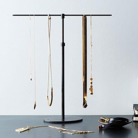 Adjustable Iron Jewelry Stand