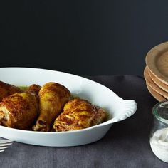 Dinner Tonight: Spiced Roast Chicken with Za'atar Yogurt