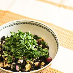 Roasted Corn and Black Bean Salad