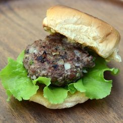 Kofta Sliders (and Grilled Asparagus) with Cumin-Coriander Aioli