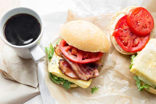 Famous Egg Sandwich From Flour Bakery