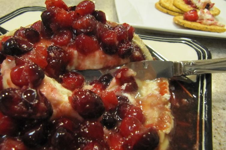 Cranberry Bucheron with Frangelico